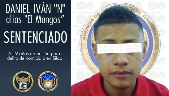"""Condenan al """"Mangos"""" por matar a 2 en #Silao"""