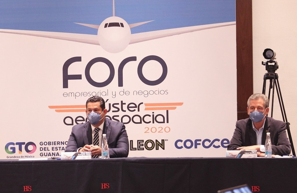 Vuela Guanajuato al futuro; comienza Foro del Clúster Aeroespacial