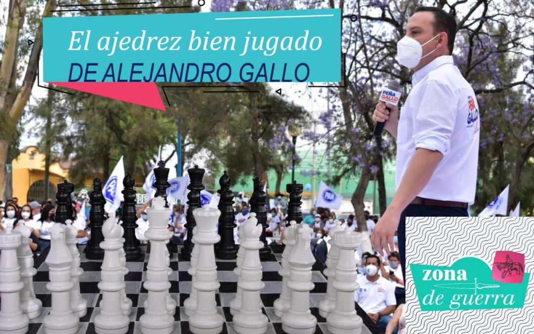 Peña, el ajedrecista de Acción Nacional en la #ZonaDeGuerra