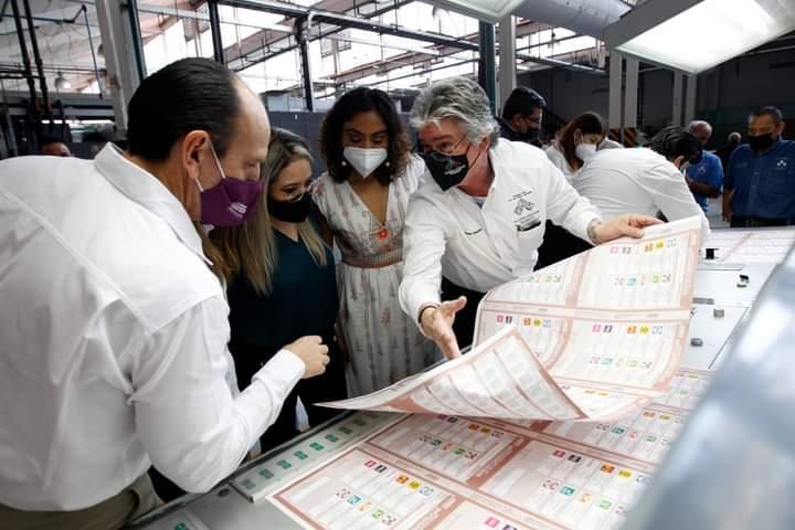 Imprime IEEG más de 9 millones de boletas electorales